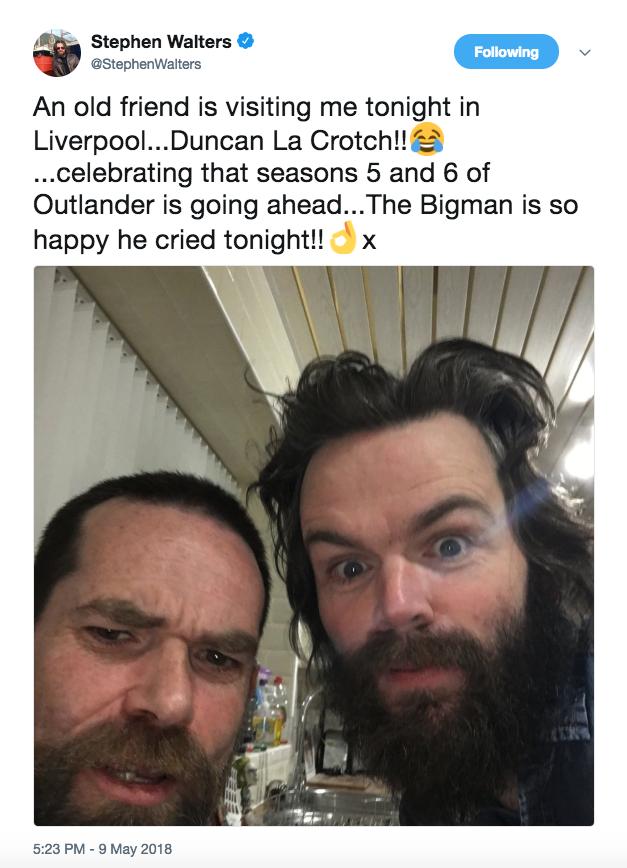 Duncan and Stephan